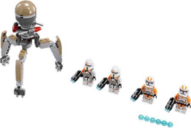 LEGO® Star Wars Utapau Troopers components