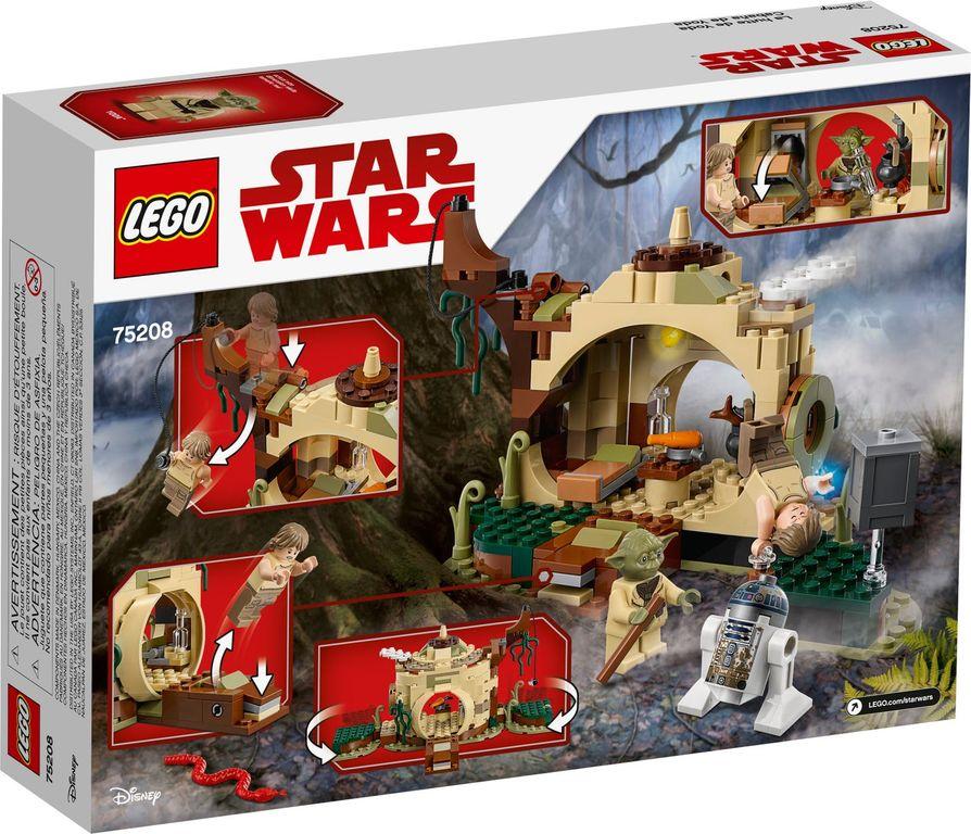 Yoda's Hut back of the box