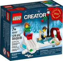 LEGO® Creator Holiday Winter Skating Scene