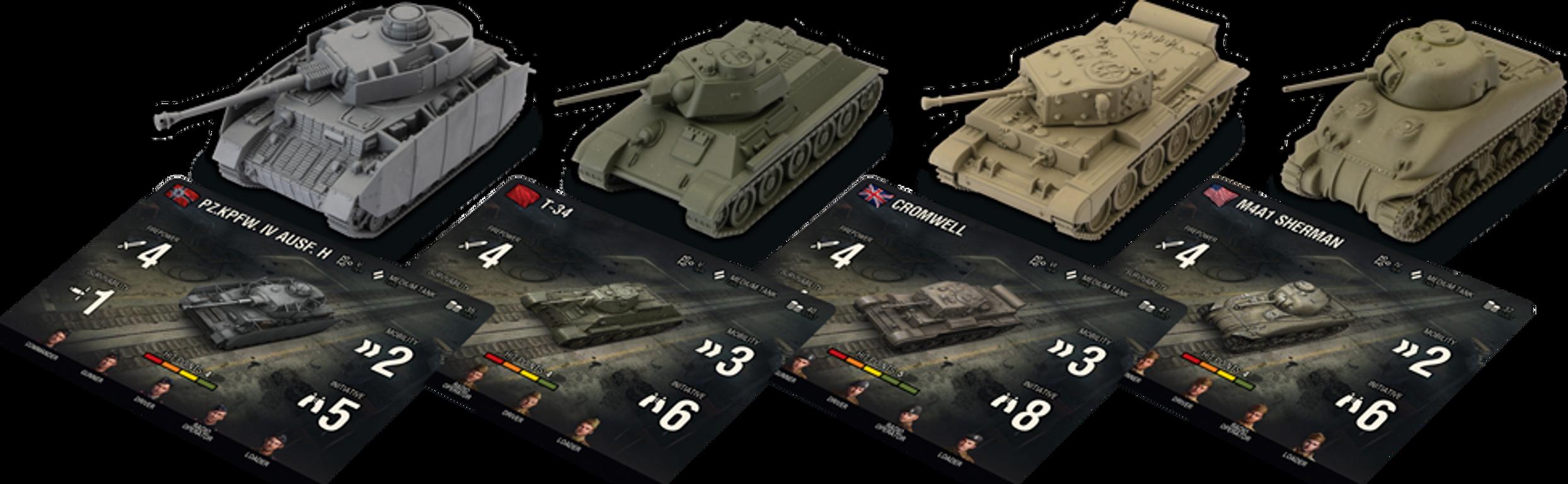 World of Tanks: Miniatures Game miniatures