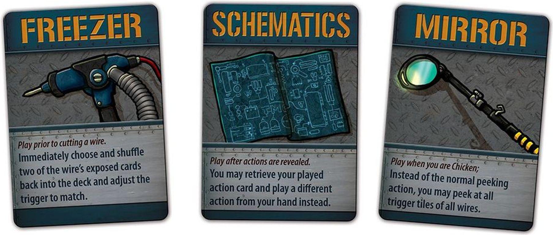 Bomb Squad Academy cards