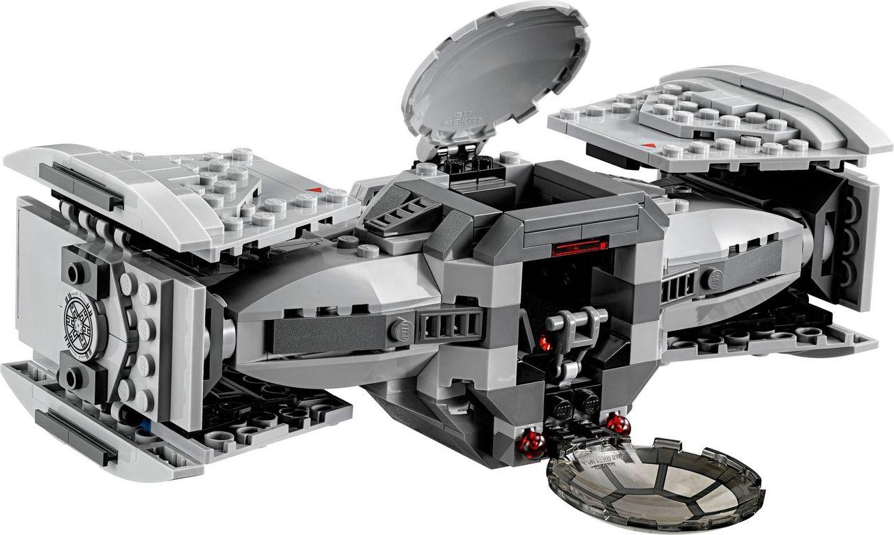LEGO® Star Wars TIE Advanced Prototype back side