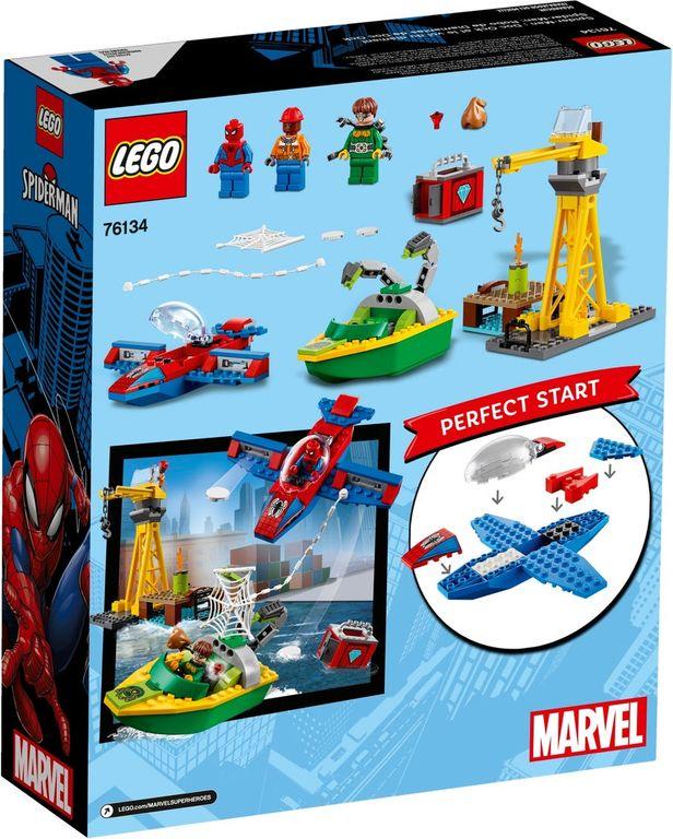 LEGO® Marvel Spider-Man: Doc Ock Diamond Heist back of the box