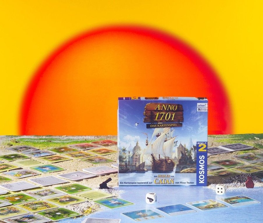 Anno 1701: Das Kartenspiel components
