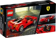 Ferrari F8 Tributo back of the box