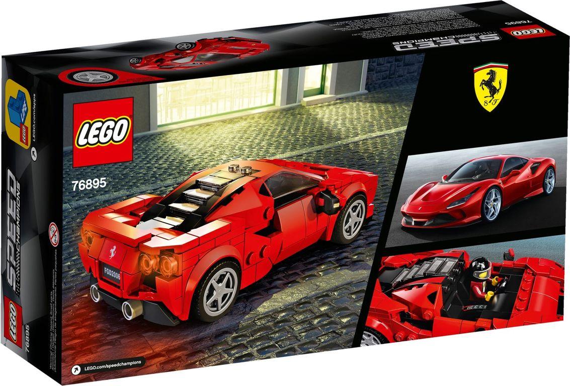 Ferrari F8 Tributo back of the box