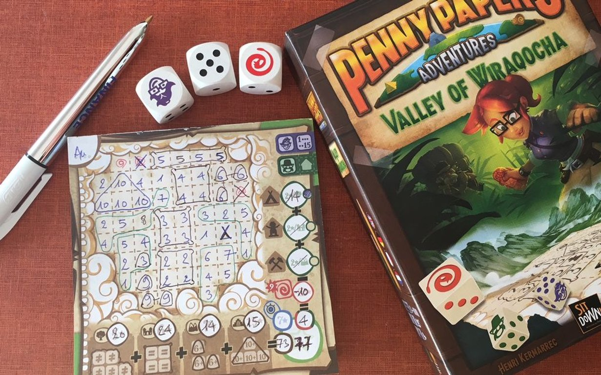 Penny Papers Adventures: The Valley of Wiraqocha gameplay