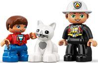 LEGO® DUPLO® Fire Truck minifigures