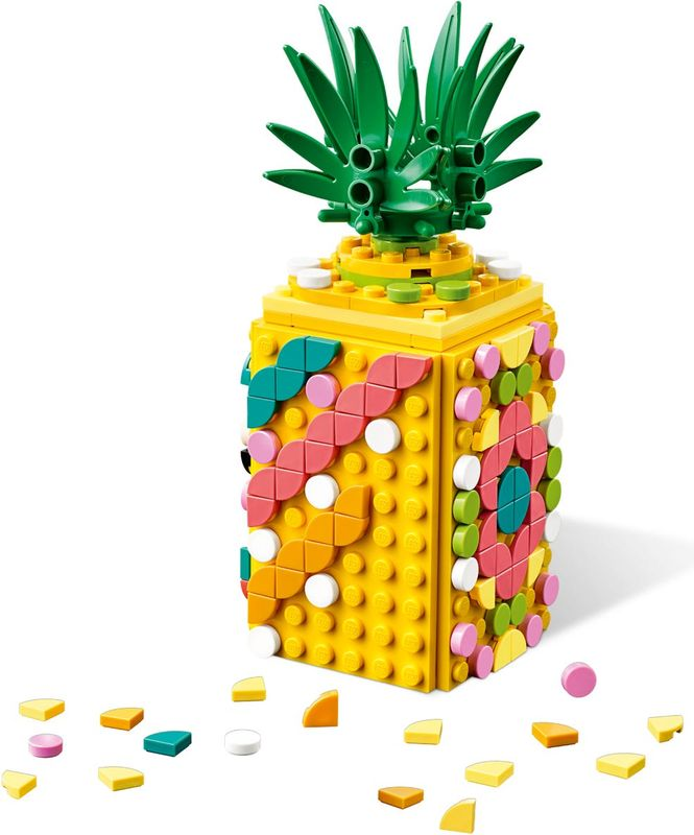 LEGO® DOTS Pineapple Pencil Holder back side