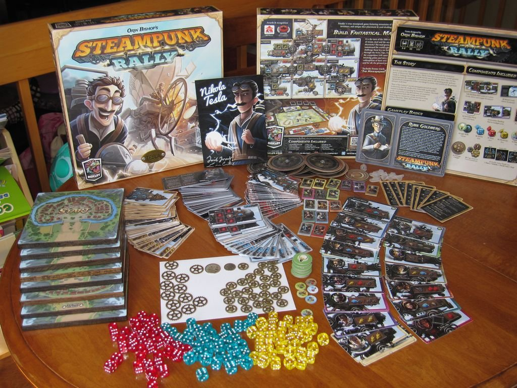 Steampunk Rally components