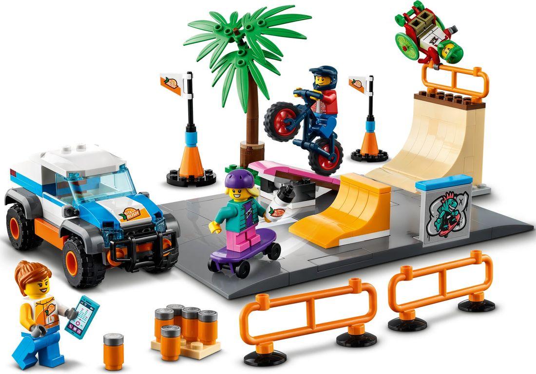 LEGO® City Skate Park gameplay