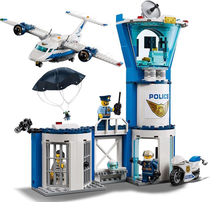 Sky Police Air Base components