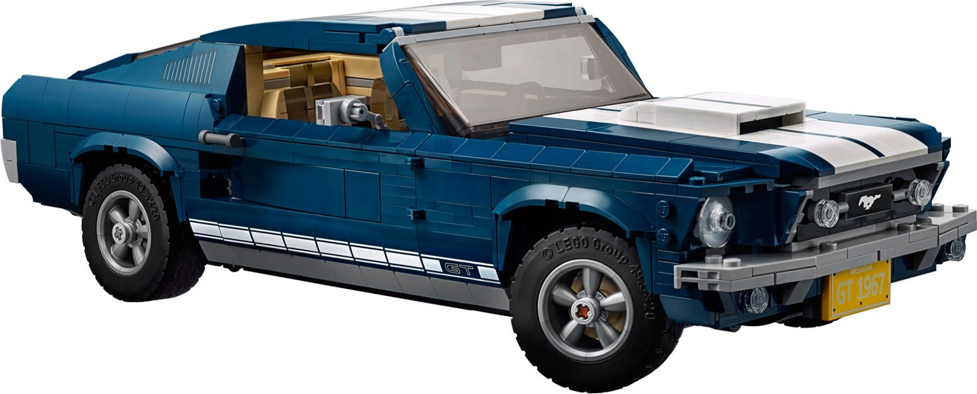 LEGO® Creator Expert Ford Mustang components