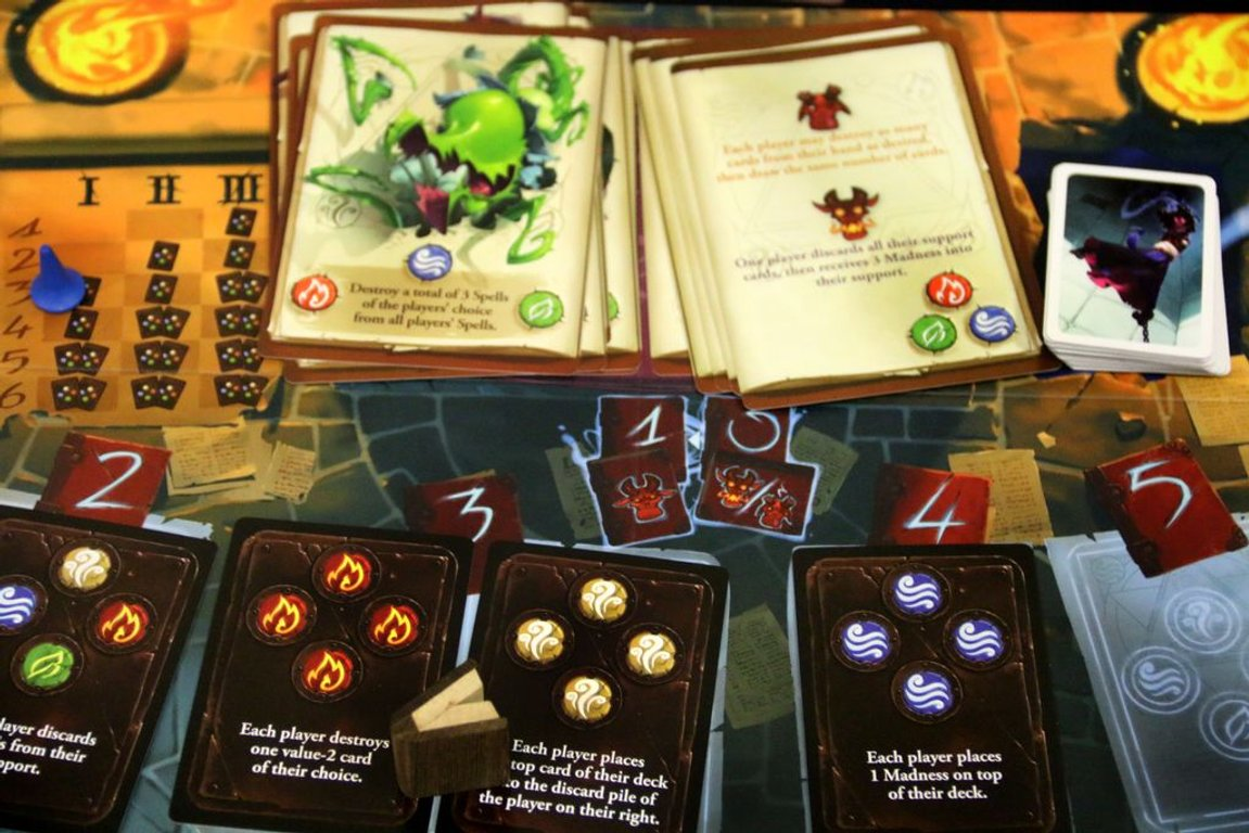 The Big Book of Madness components