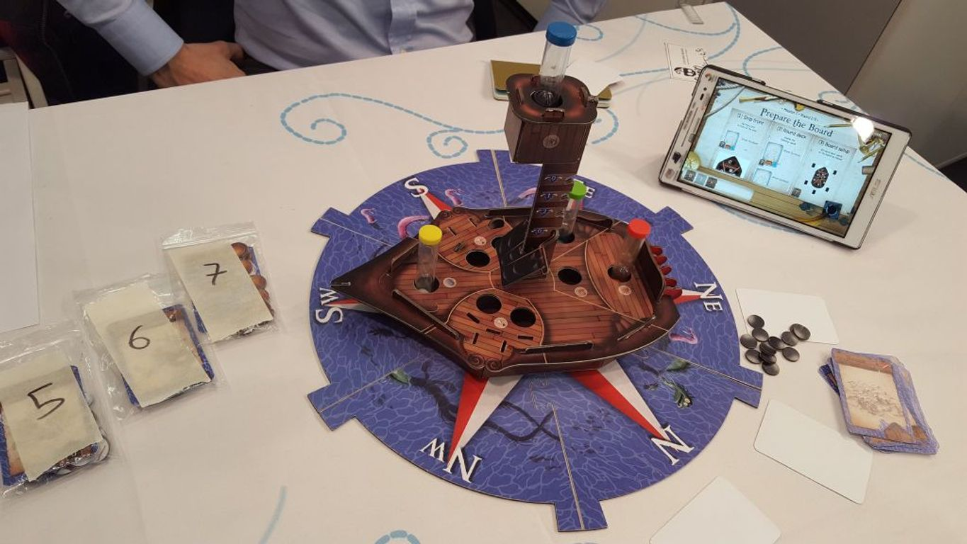 A Tale of Pirates components