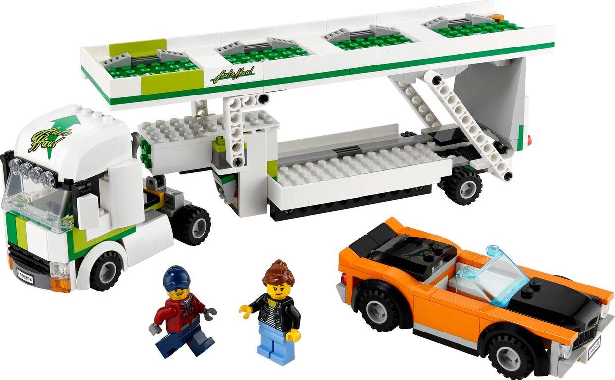 LEGO® City Car Transporter components