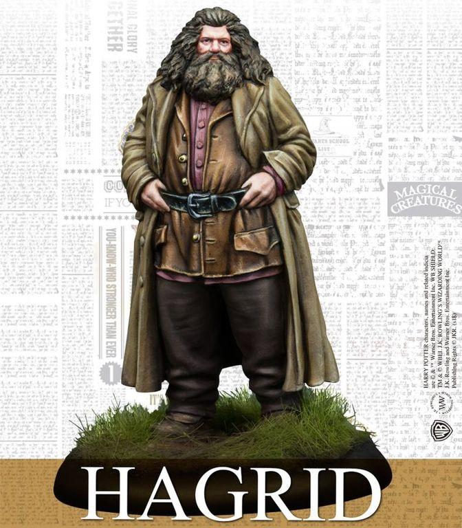Harry Potter Miniatures Game: Rubeus Hagrid & Fang miniature
