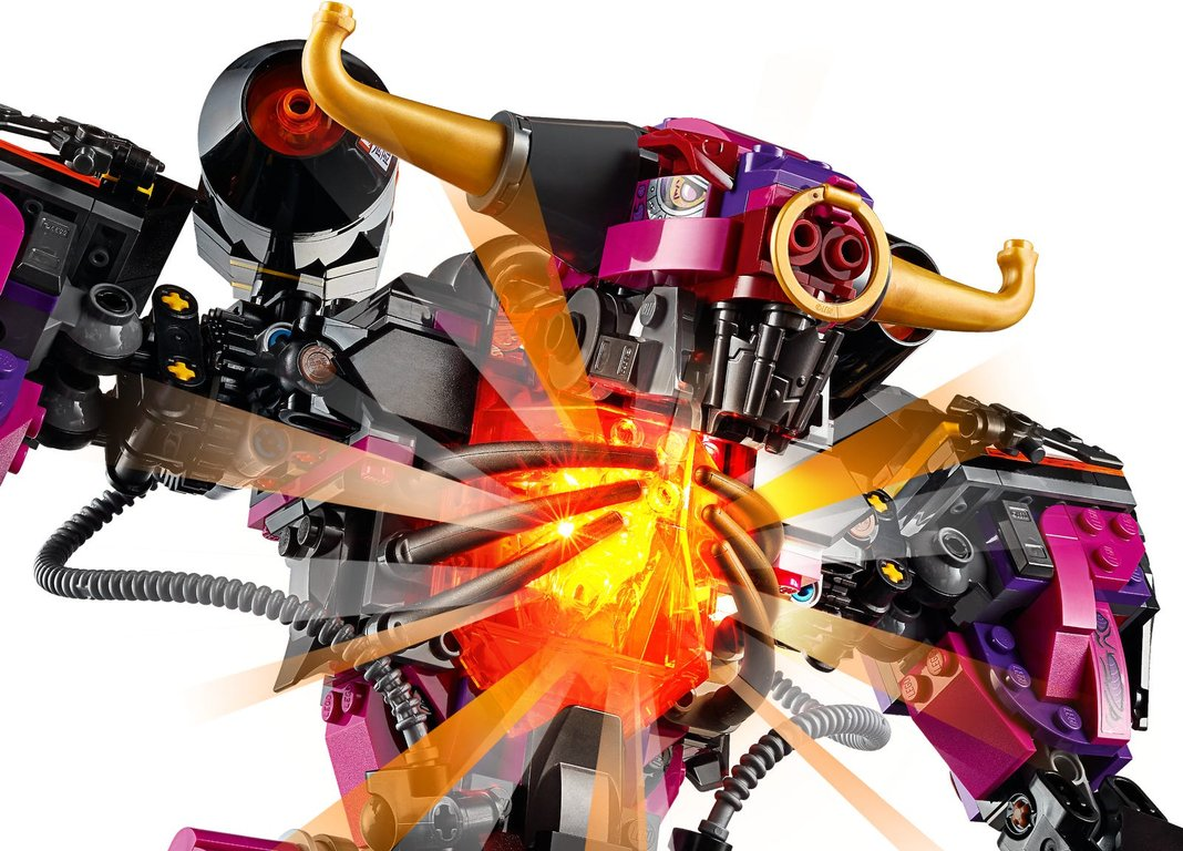 LEGO® Monkie Kid Demon Bull King gameplay