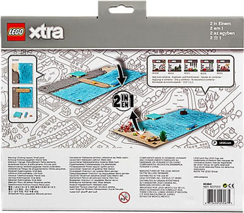 LEGO® Xtra Sea Playmat back of the box