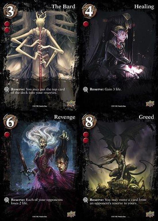 Dread Draw cards
