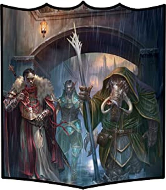 Guildmasters' Guide to Ravnica characters