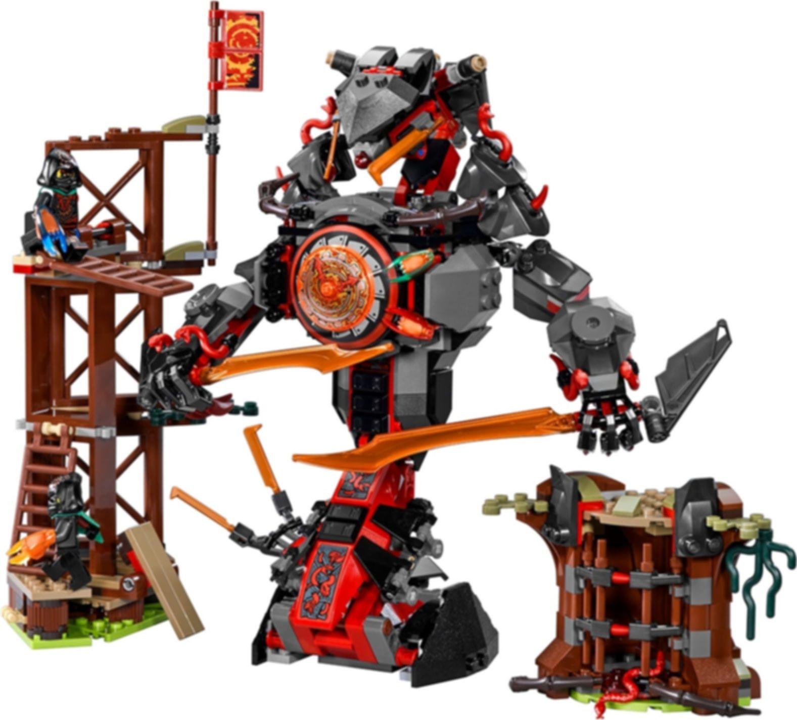 LEGO® Ninjago Dawn of Iron Doom components