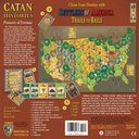 Catan Histories: Settlers of America - Trails to Rails back of the box