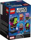 LEGO® BrickHeadz™ Gamora back of the box