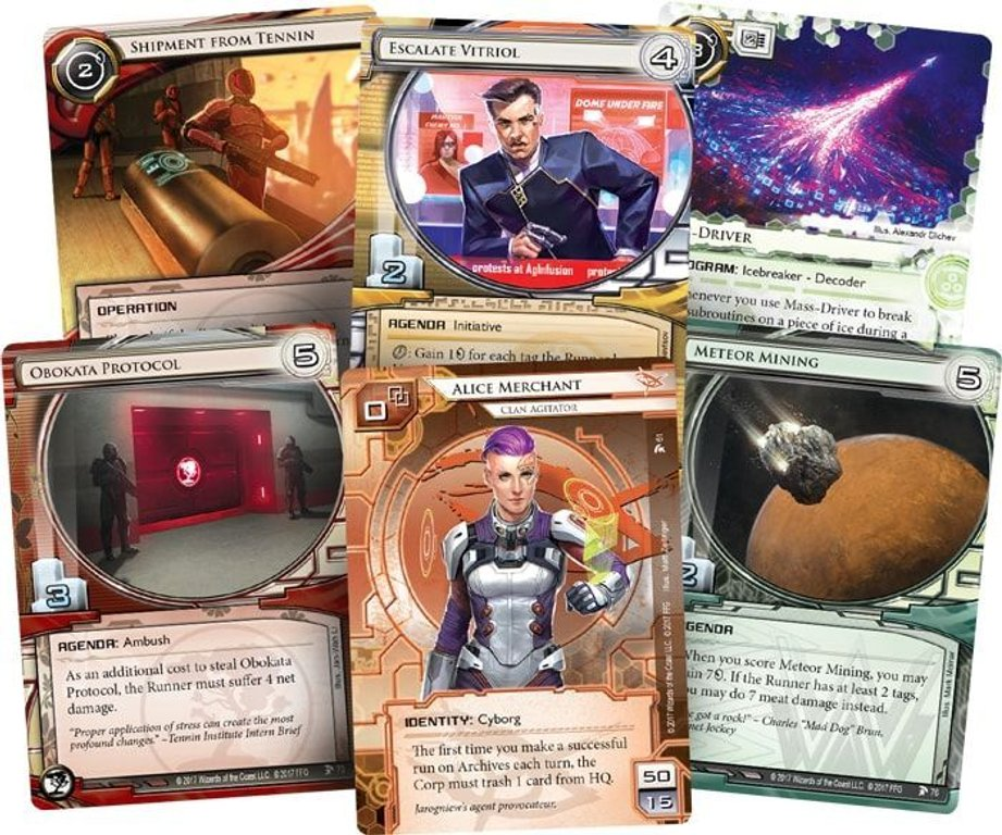 Android: Netrunner - Blood and Water cards
