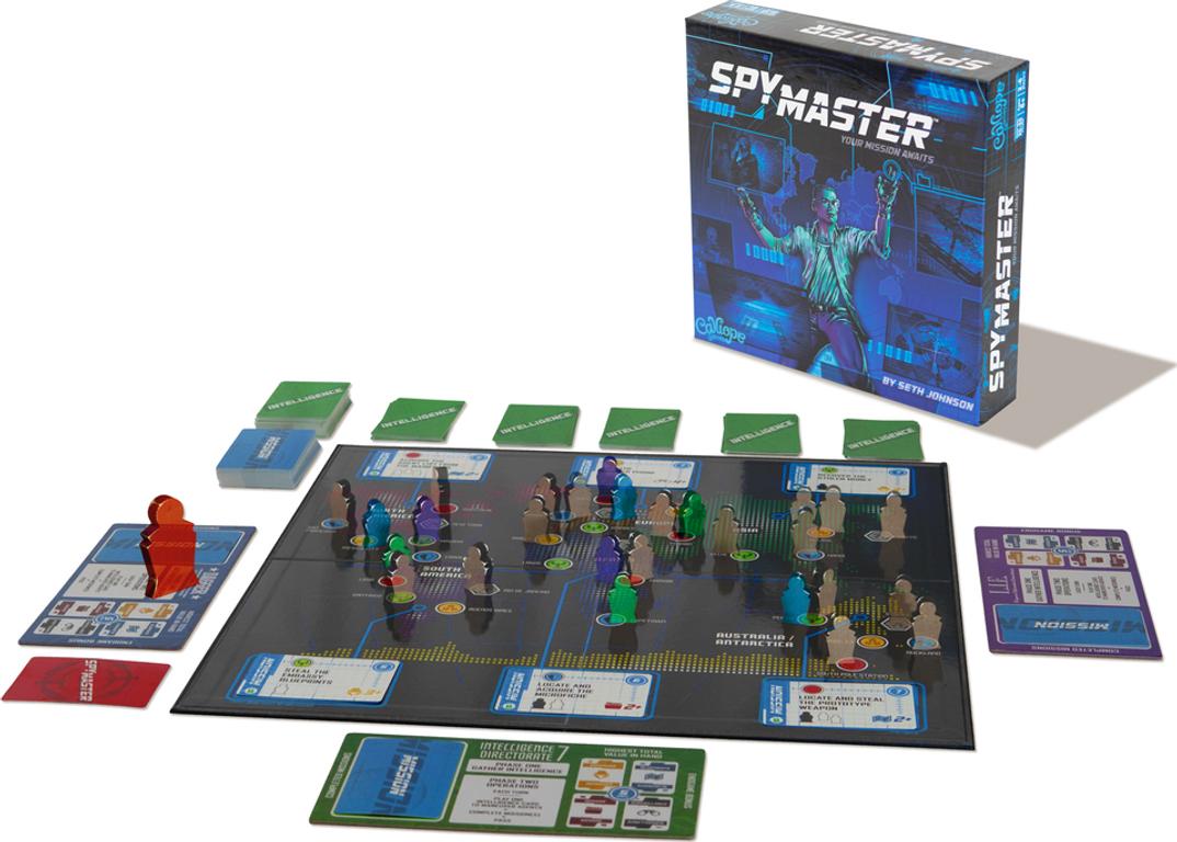 SpyMaster components
