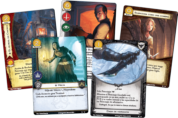 A Game of Thrones: The Card Game (Second Edition) - Ghosts of Harrenhal cards