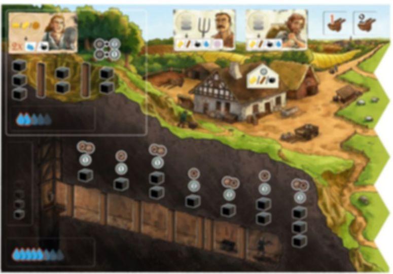 Haspelknecht game board