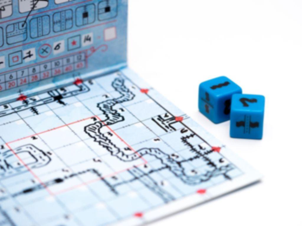 Railroad Ink: Deep Blue Edition gameplay