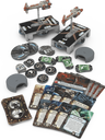 Star Wars: Armada - Hammerhead Corvettes Expansion Pack components