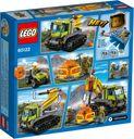 LEGO® City Volcano Crawler back of the box