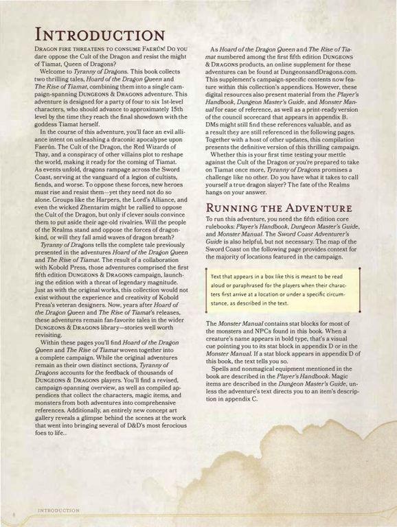 Tyranny of Dragons manual