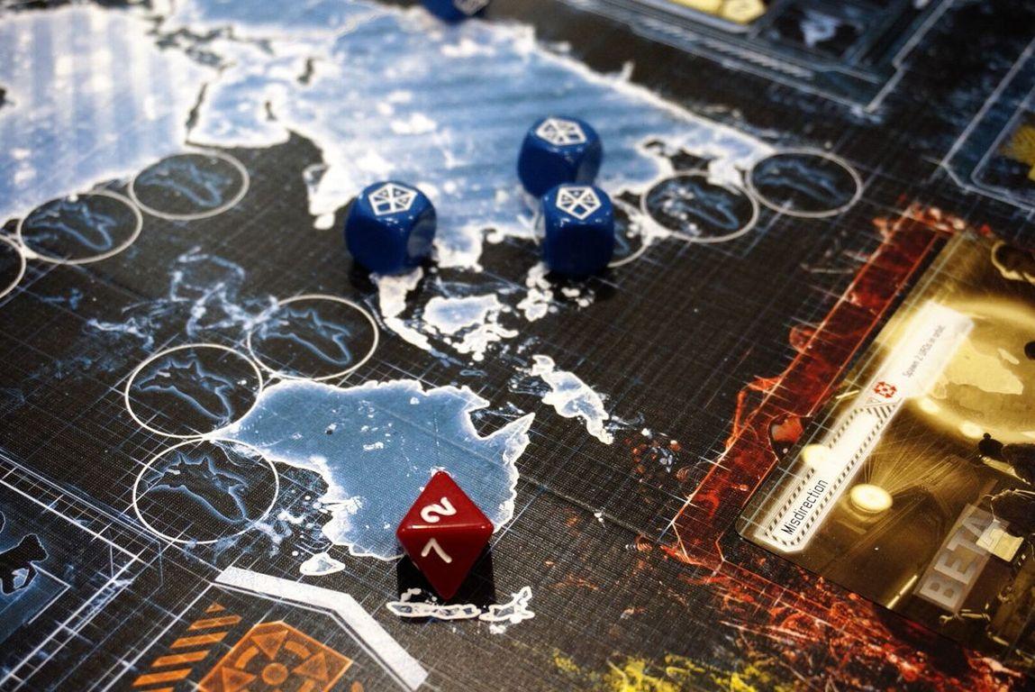 Xcom: The Board Game dice