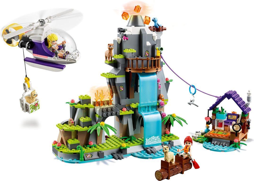 LEGO® Friends Alpaca Mountain Jungle Rescue gameplay