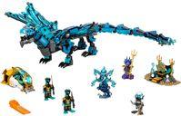 LEGO® Ninjago Water Dragon components