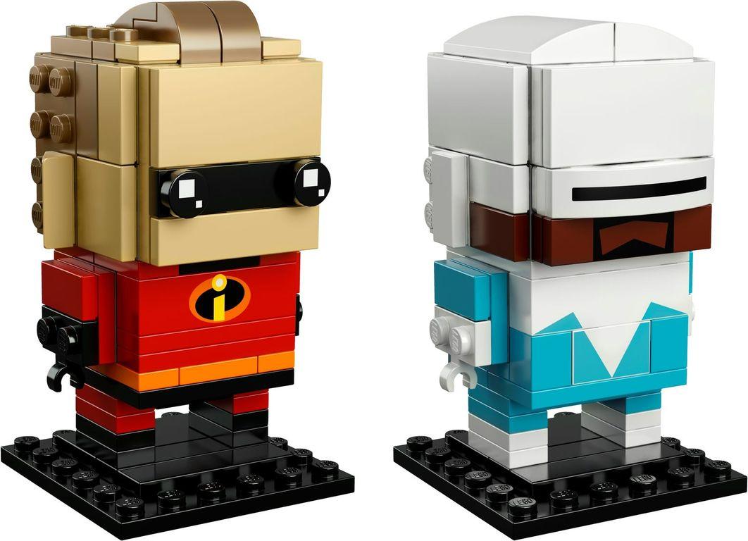 LEGO® BrickHeadz™ Mr. Incredible & Frozone components