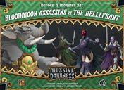 Massive Darkness: Heroes & Monster Set - Bloodmoon Assassins vs The Hellephant