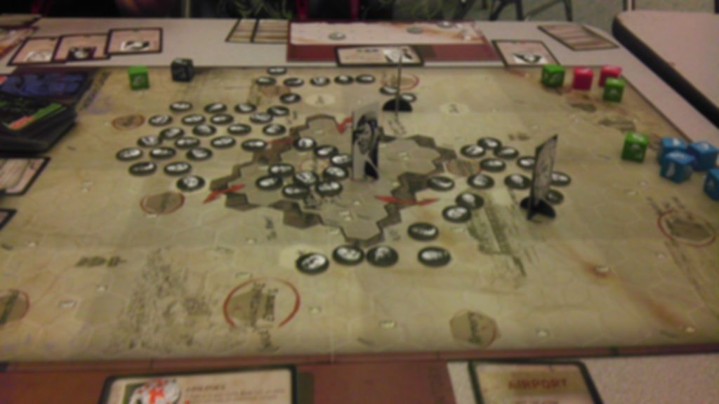 The Walking Dead: The Board Game gameplay