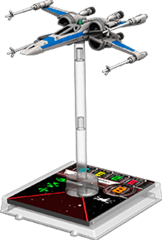 Star Wars: X-Wing Miniatures Game - T-70 X-Wing Expansion Pack miniatures