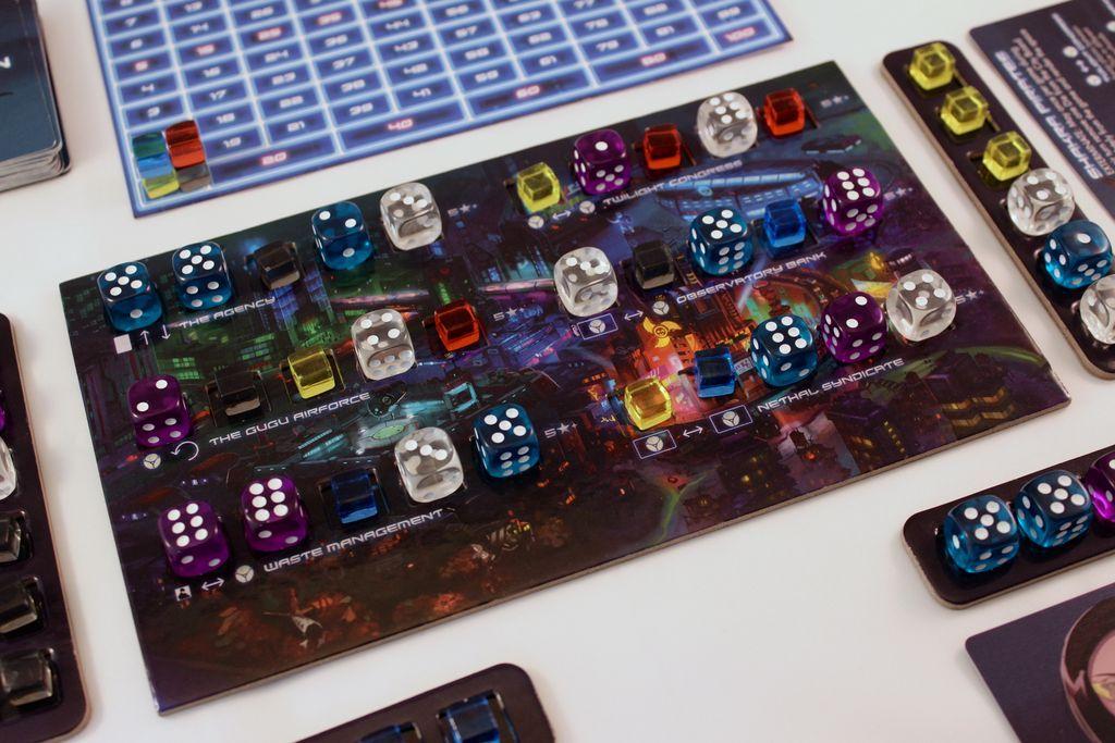 Dicetopia gameplay