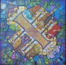 Harry Potter: Diagon Alley Board Game game board