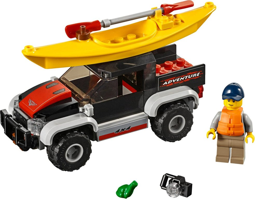 LEGO® City Kayak Adventure components