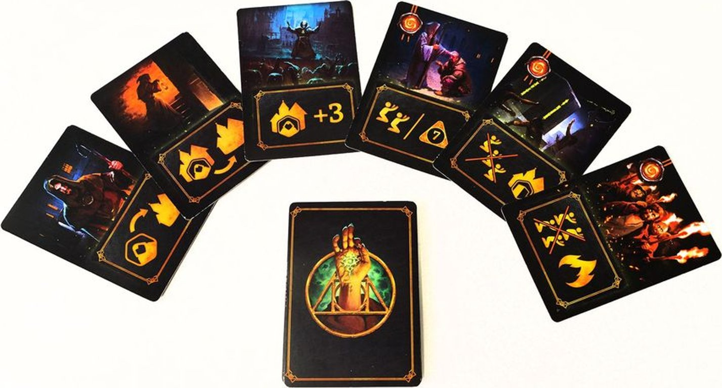 Cult: Choose Your God Wisely cards
