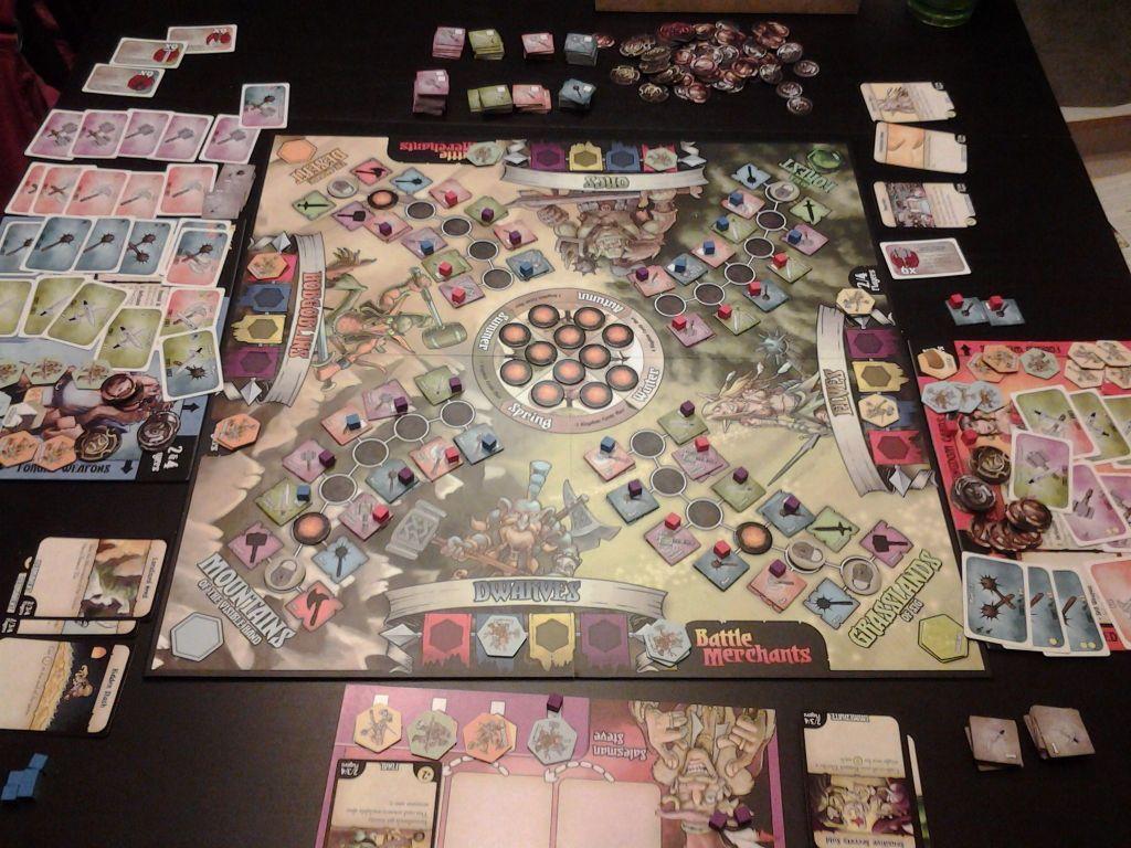 Battle Merchants gameplay