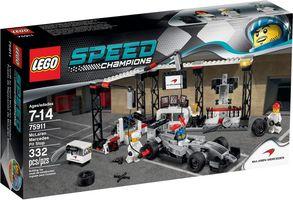 LEGO® Speed Champions McLaren Mercedes Pit Stop