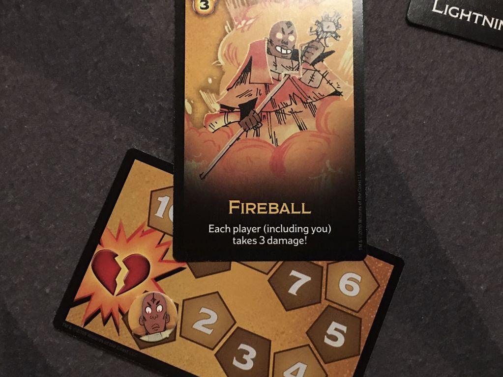 Dungeon Mayhem cards